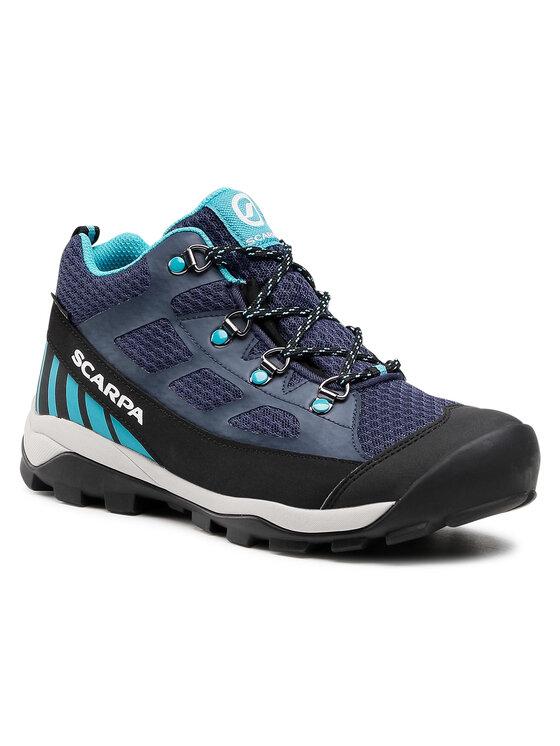Scarpa Turistiniai batai Neutron Mid Kid Gtx GORE-TEX 30501-203 Tamsiai mėlyna