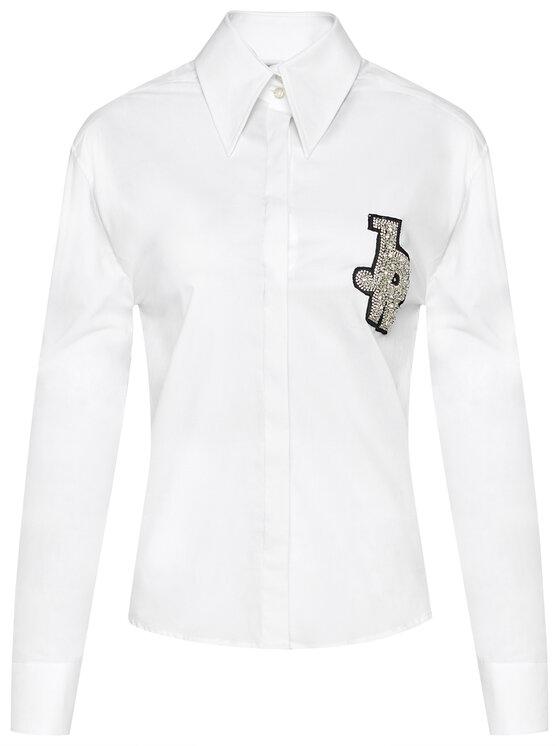 John Richmond John Richmond Koszula Smeeki RWP21186CA Biały Regular Fit