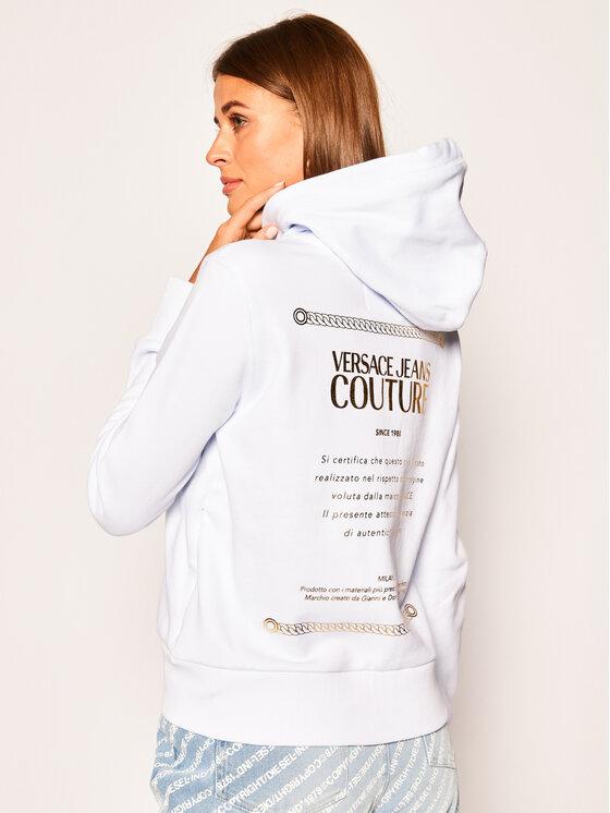 Versace Jeans Couture Versace Jeans Couture Sweatshirt B6HVA70T Weiß Regular Fit