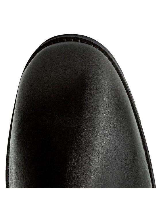 Guess Guess Μποτάκια με λάστιχο Jared FMJAR3 LEA10 Μαύρο