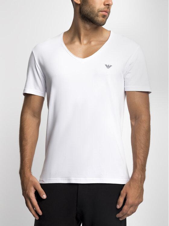 Emporio Armani Underwear Emporio Armani Underwear T-shirt 111767 9P510 00010 Bianco Slim Fit