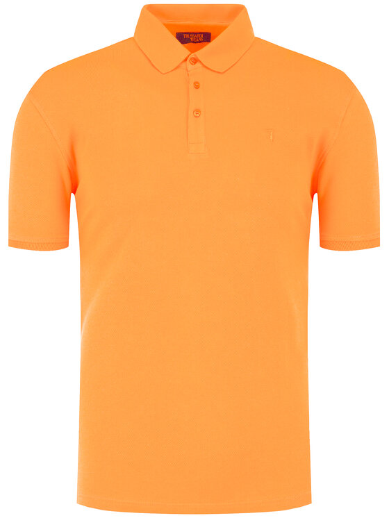 Trussardi Jeans Trussardi Jeans Polo 52T00349 Arancione Regular Fit