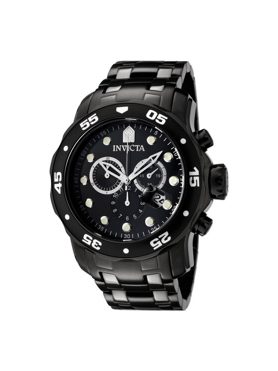 Invicta Watch Laikrodis 0076 Juoda