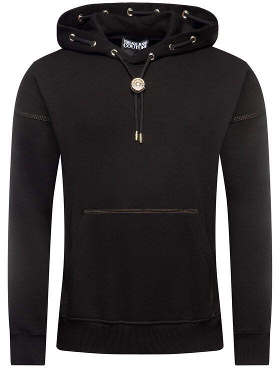 Versace Jeans Couture Versace Jeans Couture Sweatshirt B7GVA712 Schwarz Regular Fit