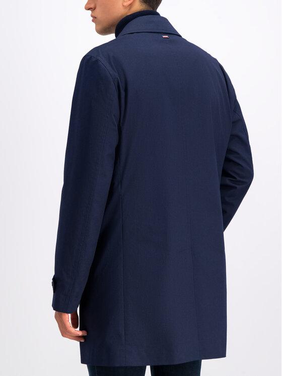 Tommy Hilfiger Tailored Tommy Hilfiger Tailored Ανοιξιάτικο παλτό TT0TT05537 Σκούρο μπλε Regular Fit