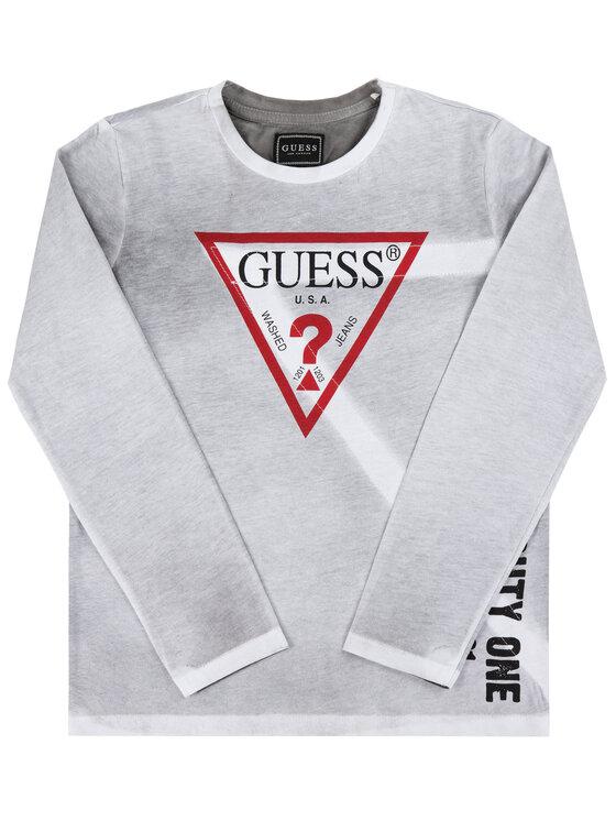 Guess Guess Bluse L94I16 K82D0 Grau Regular Fit