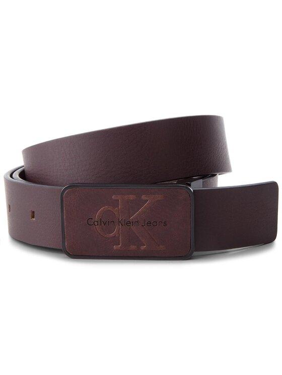 Calvin Klein Jeans Calvin Klein Jeans Cintura da uomo J Adj. Re-Issue Plaqu K50K503602 105 Marrone