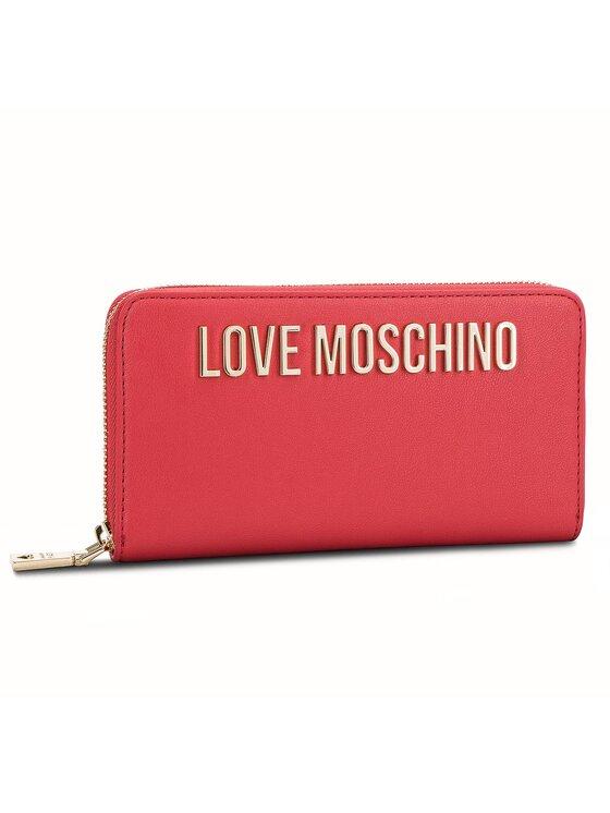 LOVE MOSCHINO LOVE MOSCHINO Duży Portfel Damski JC5593PP06KU0500 Czerwony