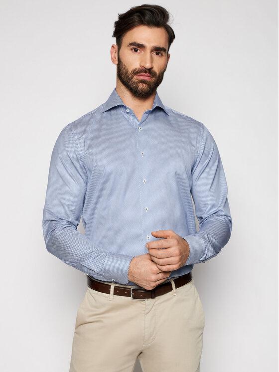 Stenströms Marškiniai 712111 8116 Mėlyna Slim Fit