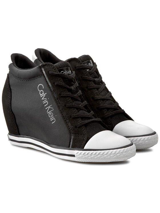 Calvin Klein Jeans Calvin Klein Jeans Plátenky Valencia RE9380 Čierna