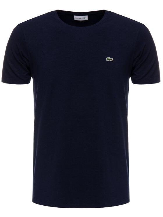 Lacoste Lacoste Marškinėliai TH0998 Tamsiai mėlyna Regular Fit
