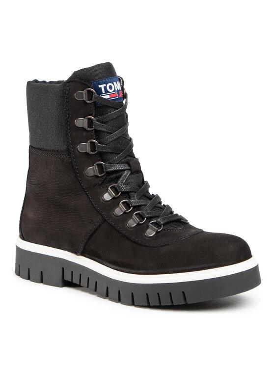 Tommy Jeans Aulinukai Pop Color Hiking Boot EN0EN01078 Juoda