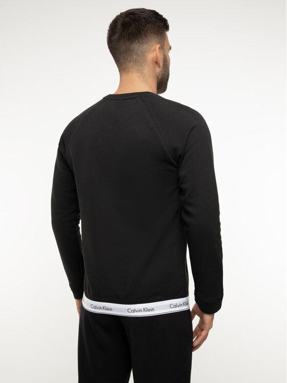 Calvin Klein Underwear Calvin Klein Underwear Mikina 000NM1359E Černá Regular Fit