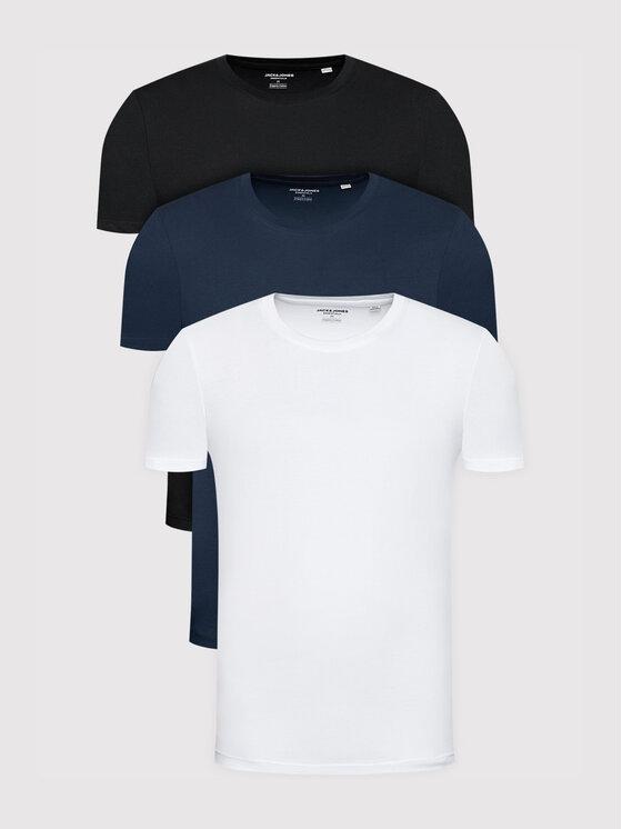 Jack&Jones 3 marškinėlių komplektas Organic Basic 12191759 Spalvota Regular Fit
