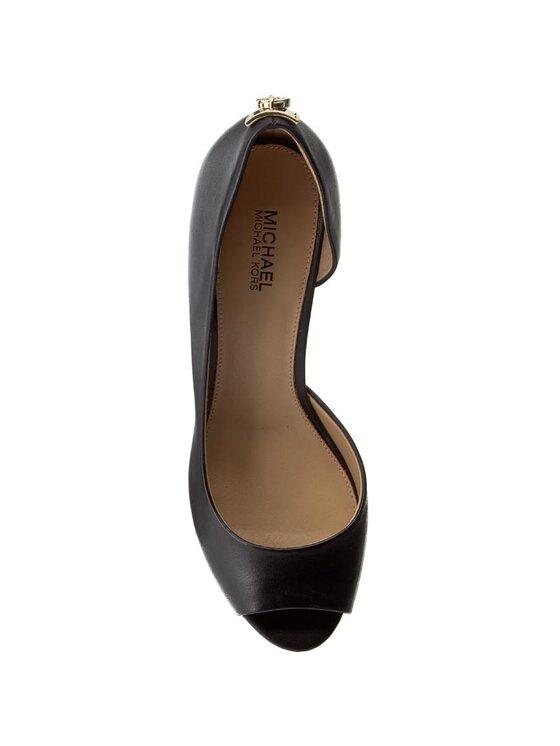MICHAEL Michael Kors MICHAEL Michael Kors Pantofi Hamilton Open Toe Flex 40S6HAMP2L Negru