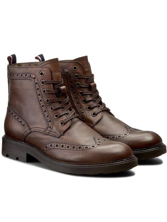 Tommy Hilfiger Tommy Hilfiger Μπότες Heritage 5A1 FM56821873 Καφέ