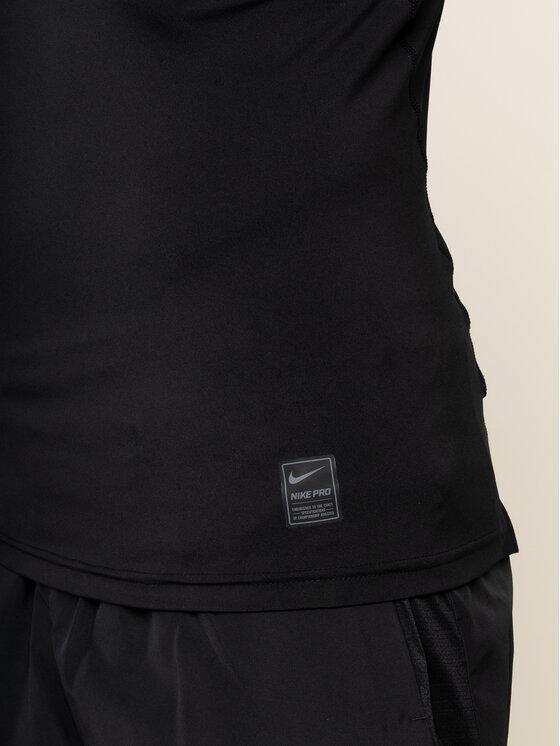 NIKE NIKE Koszulka techniczna Pro 838091 Czarny Tight Fit