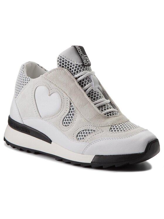 LOVE MOSCHINO LOVE MOSCHINO Sneakersy JA15294G05JG210A Biały