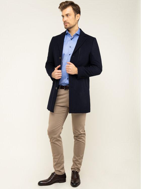 Emanuel Berg Emanuel Berg Košeľa Hv-Harvard PEB45789 Modrá Modern Fit