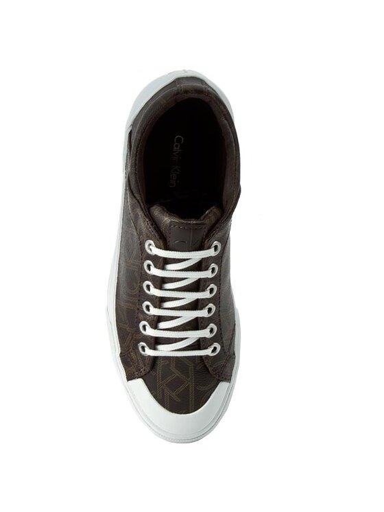 Calvin Klein Calvin Klein Sneakers aus Stoff Giselle N12016 Braun