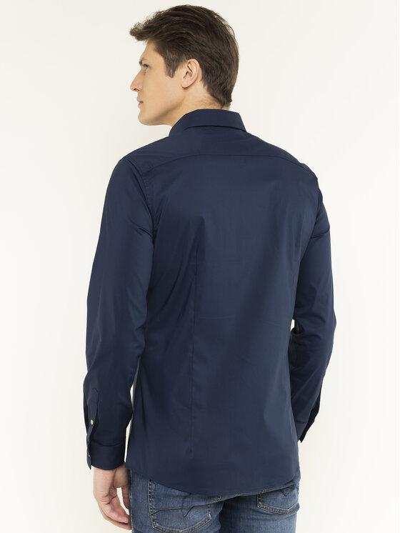 Guess Guess Πουκάμισο M94H13 WC460 Σκούρο μπλε Slim Fit