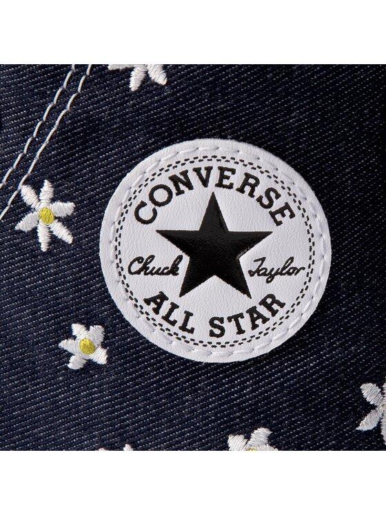 Converse Converse Plátenky Ctas Hi 555976C Tmavomodrá