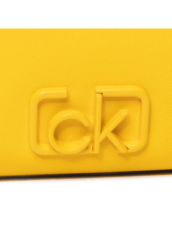 Calvin Klein Calvin Klein Torebka Ck Signature Ew Crossbody K60K606504 Żółty