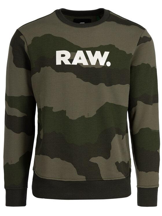 G-Star Raw G-Star Raw Felpa D15172-B531-A695 Verde Regular Fit