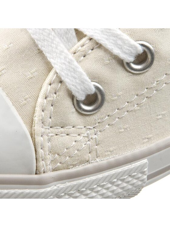Converse Converse Sneakers aus Stoff Ct Dainty Ox 5473 Beige