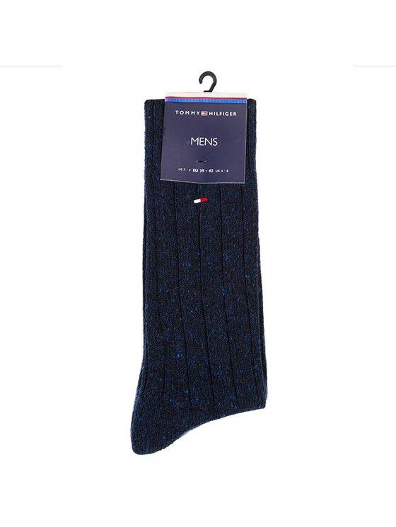 Tommy Hilfiger Tommy Hilfiger Pánské klasické ponožky 442022001 Tmavomodrá