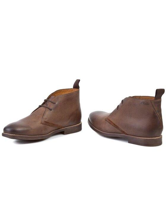 Clarks Clarks Обувки Novato Mid 261025047 Кафяв