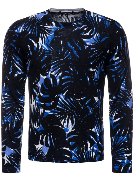 MICHAEL Michael Kors MICHAEL Michael Kors Sweater CU96KTAFE5 Sötétkék Slim Fit