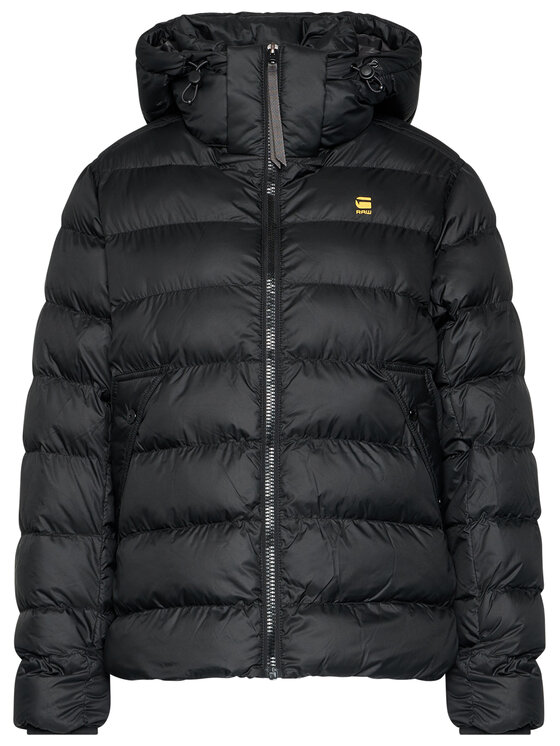 G-Star Raw G-Star Raw Vatovaná bunda Whistler Hdd Puffer D17486-B958-6484 Černá Regular Fit
