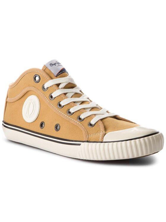 Pepe Jeans Pepe Jeans Sneakers aus Stoff Industry 1973 PMS30429 Gelb