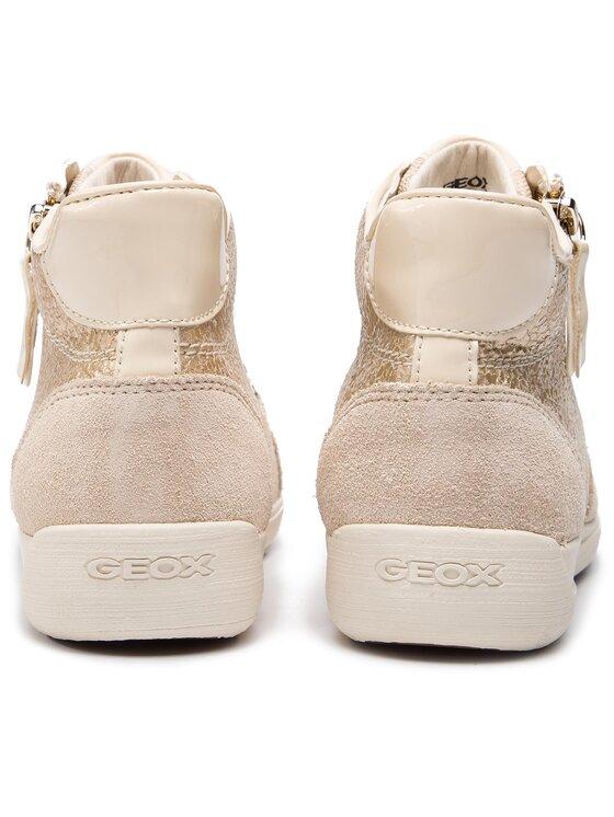 Geox Geox Сникърси D Myria C D6468C 0KY22 C2L5K Бежов