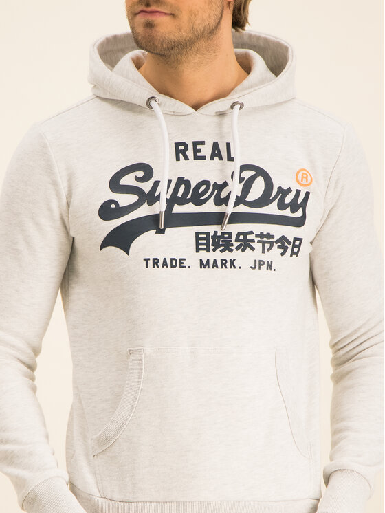 Superdry Superdry Bluza Vl M2000131A Szary Regular Fit