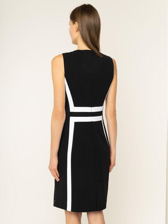 Calvin Klein Calvin Klein Koktélruha Contrast Panel K20K201540 Fekete Regular Fit