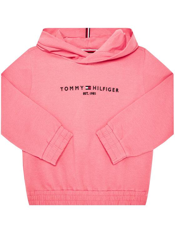 Tommy Hilfiger Tommy Hilfiger Mikina Essential Hooded KG0KG05216 D Růžová Regular Fit