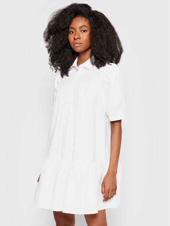 Levi's® Sukienka koszulowa Johannah Trapeze A0662-0000 Biały Oversize