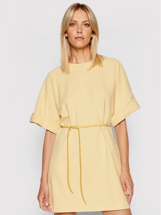 Imperial Kasdieninė suknelė ABZQBCR Geltona Regular Fit