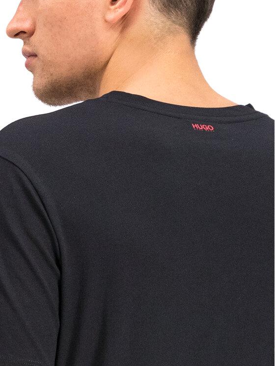 Hugo Hugo T-Shirt 50416621 Černá Regular Fit