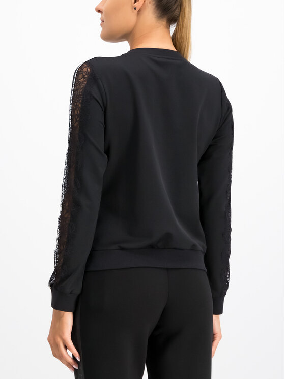 Guess Guess Sweatshirt W93Q71 K8T00 Schwarz Regular Fit