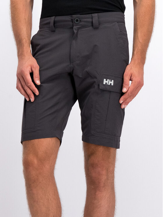 Helly Hansen Helly Hansen Pantaloncini di tessuto Hh Qd Cargo 54154 Blu scuro Regular Fit