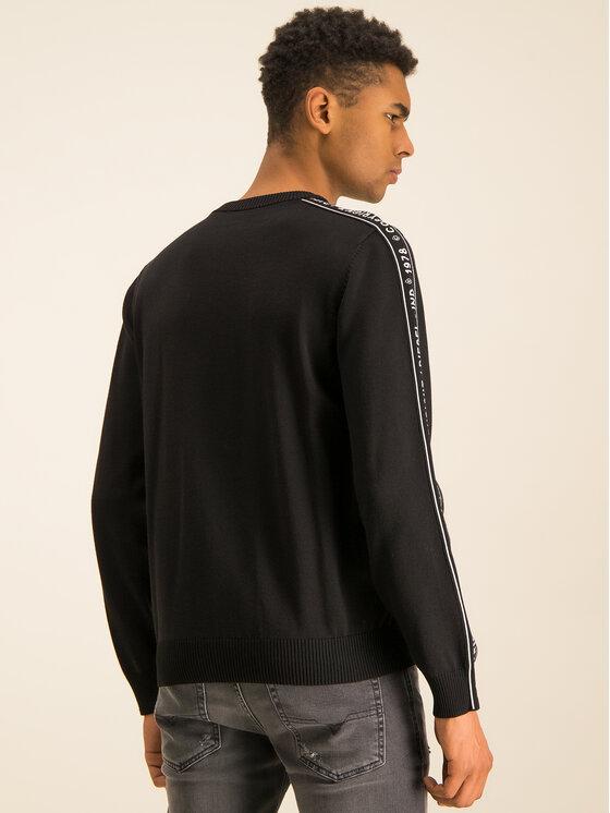 Diesel Diesel Sweater Tracky 00SASR 0TATJ Fekete Regular Fit