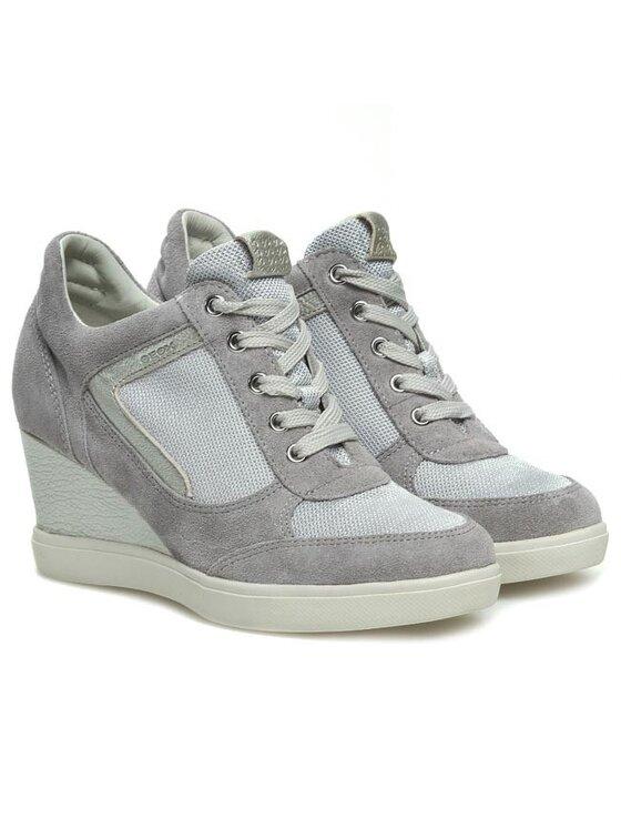 Geox Geox Sneakersy D Eleni A D4267A 02211 C1004 Szary