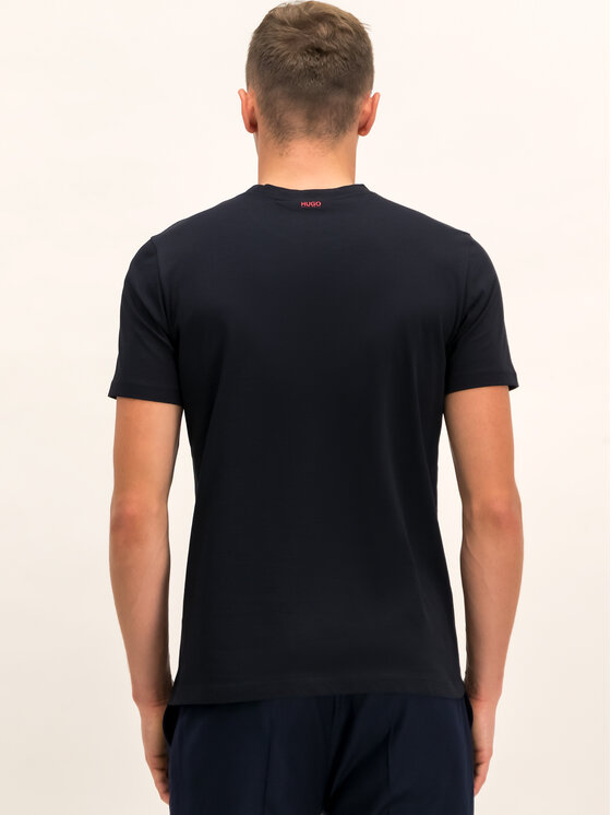 Hugo Hugo T-Shirt 50416621 Czarny Regular Fit