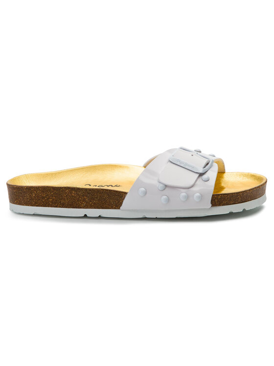 Pepe Jeans Pepe Jeans Чехли Oban Studs PLS90419 Бял