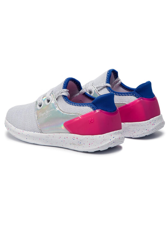 Pepe Jeans Pepe Jeans Sneakers Jayden Bow Girl PGS30395 Weiß