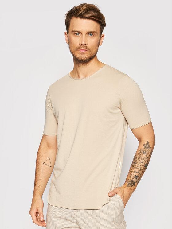 Imperial Marškinėliai TB92BATL Smėlio Regular Fit