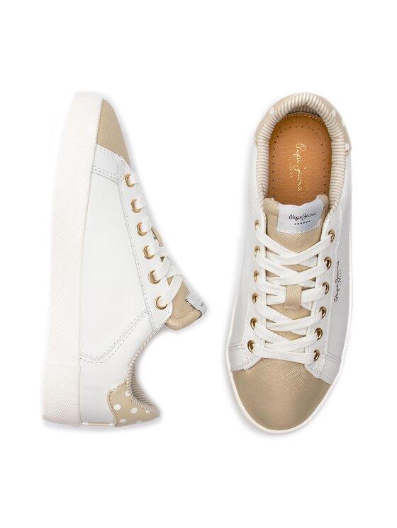 Pepe Jeans Pepe Jeans Sneakers Kioto Dotty PLS30847 Bianco